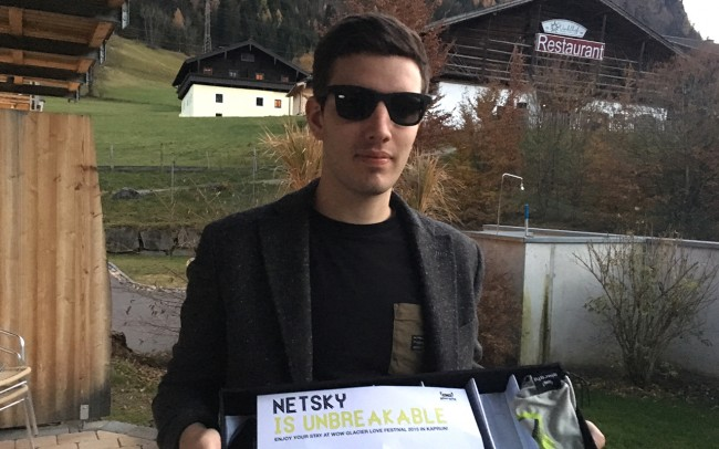 Netsky The superstar-DJ and -producer from Belgium at WOW Glacier Love Festival 2015.
