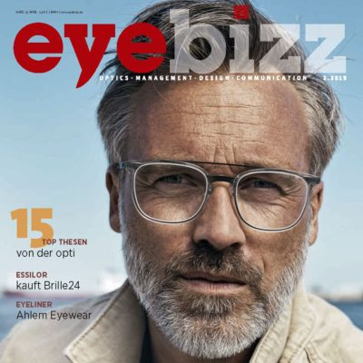 gloryfy Eyebizz Magazin Soho Stripes Brown optische Brille