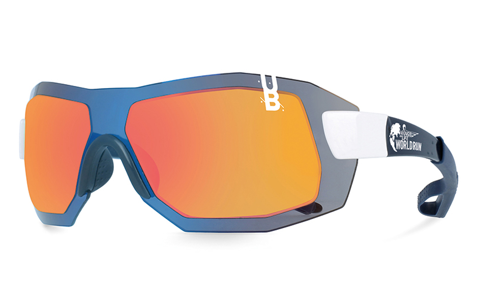 gloryfy G9 XTR Helioz Radical Wings for Life World Run Sonnenbrille Perspektive