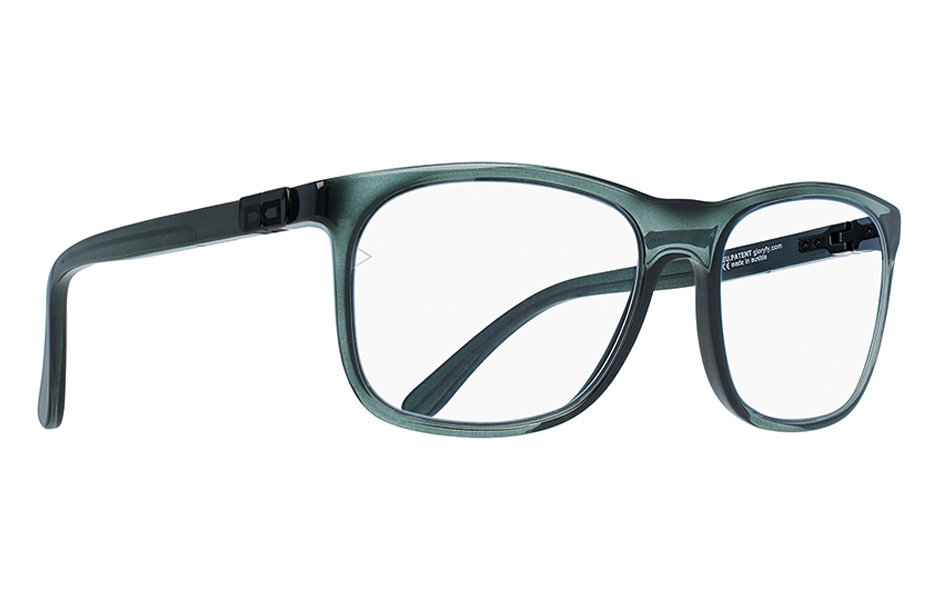 gloryfy FirstChoice Vintage green optische Brille Perspektive