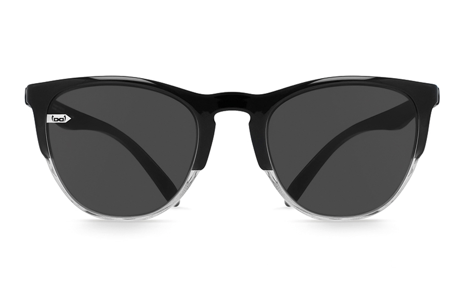 gloryfy unbreakable Gi16 Headliner Black and White Sonnenbrille Frontansicht