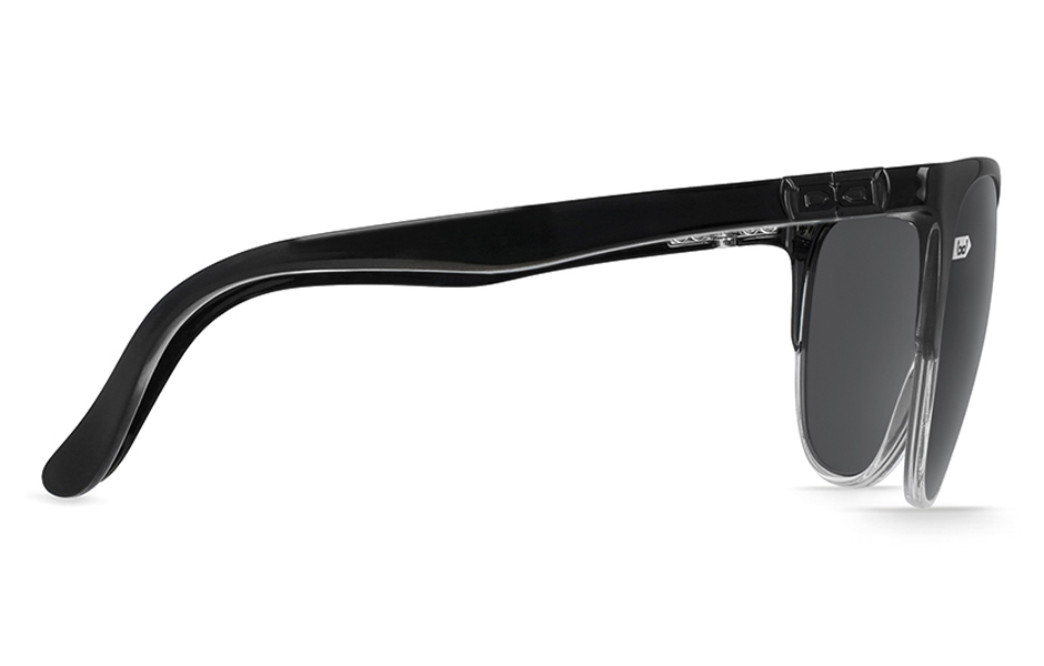 gloryfy unbreakable Gi16 Headliner Black and White Sonnenbrille Seitenansicht