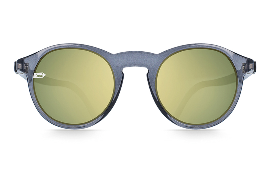 gloryfy unbreakable Gi8 Panto Grey Sonnenbrille Frontansicht