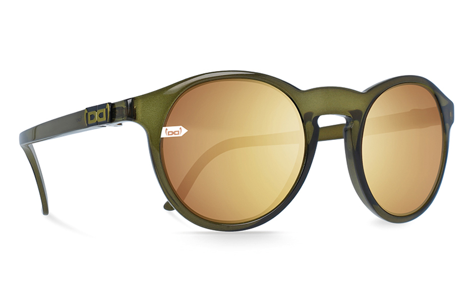 gloryfy unbreakable Gi8 Panto Olive Sonnenbrille Perspektive