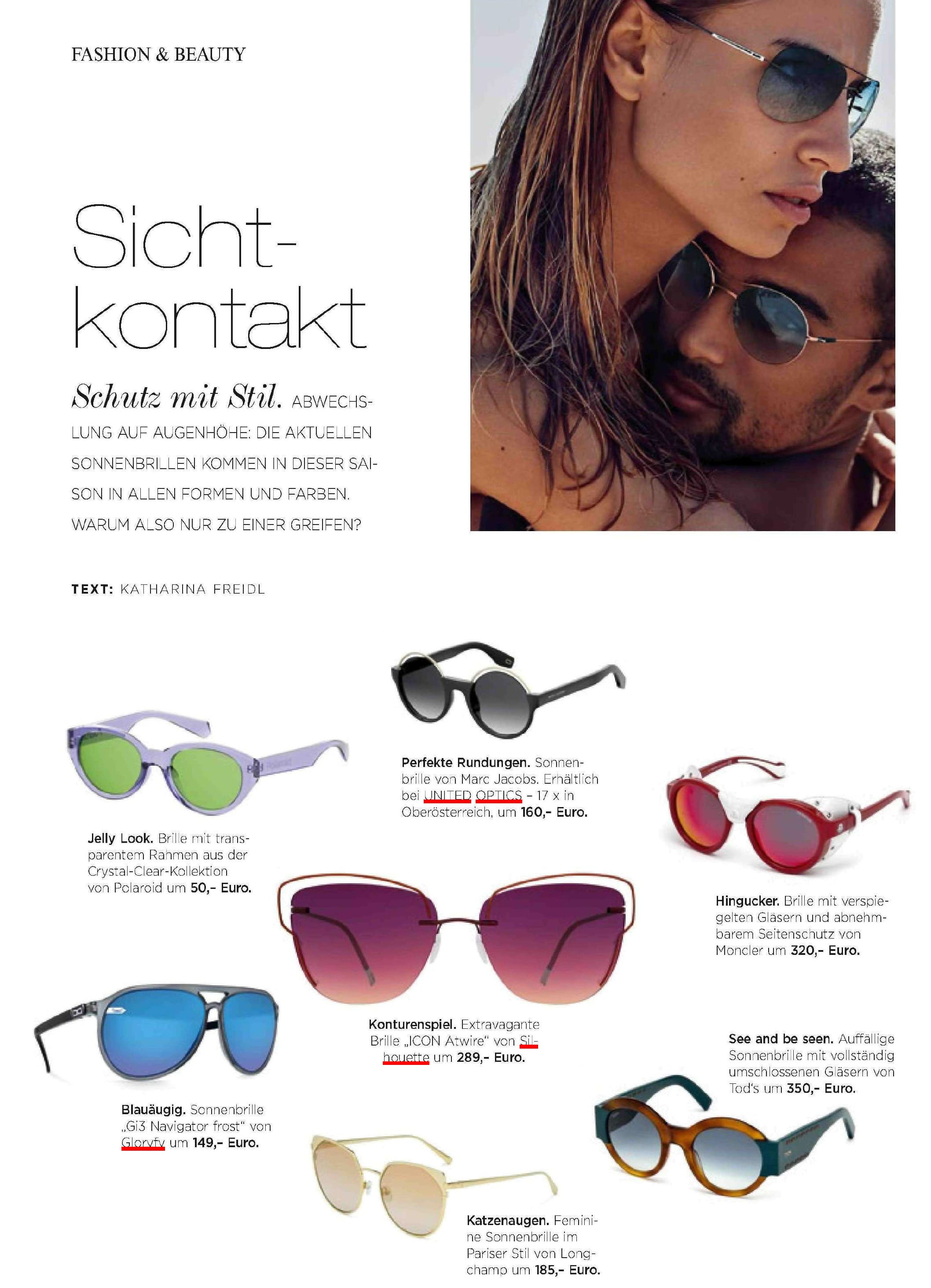 gloryfy Moments Navigator frost Sonnenbrille