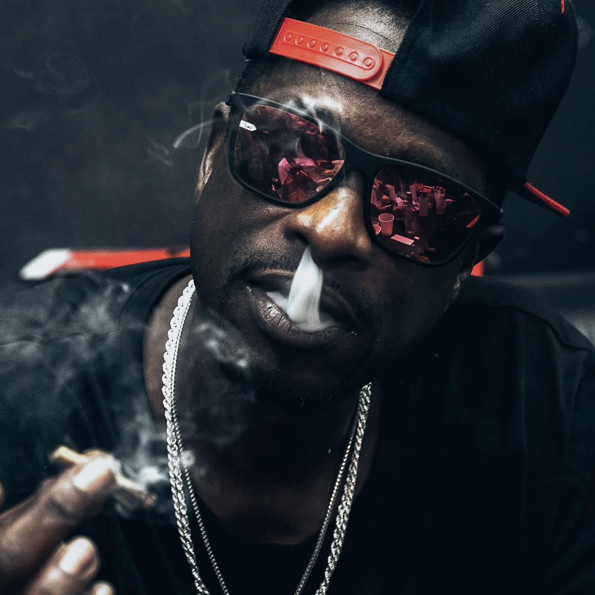 glofyfy unbreakbale Sonnenbrille Celebrities Devin The Dude