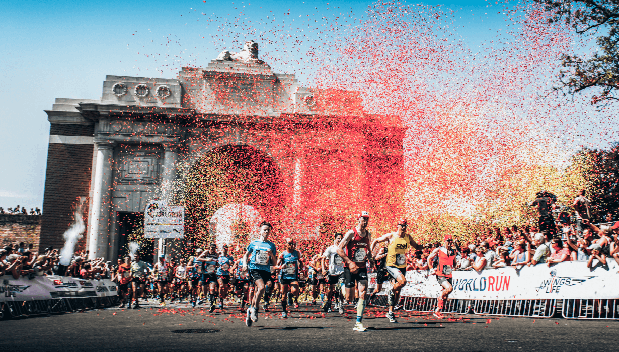gloryfy Wings for Life Worldrun zonnebril Edition