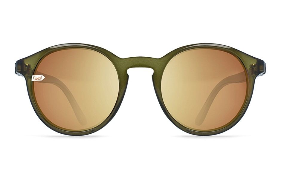 gloryfy unbreakable Sonnenbrille Gi8 Panto Olive Front